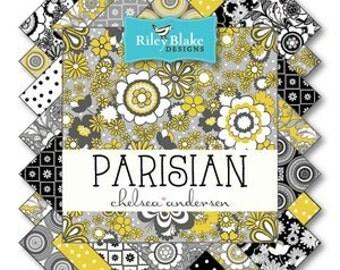 "Riley Blake Designs ""Parisian"" - Fat Quarter Bundle"