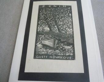 Rowboat Greeting Card