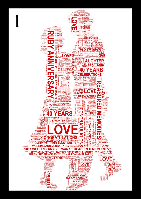 clipart ruby wedding anniversary - photo #17
