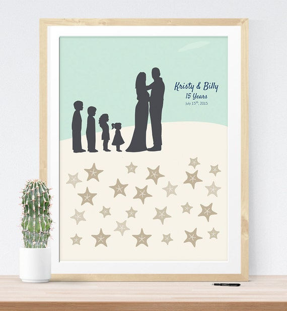 Wedding Vow Gifts: Items Similar To Vow Renewal Guest Book Sign
