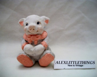 Baby Pig Figurine
