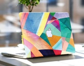 "Geometric Fiesta Vinyl Skin Decal for Apple Macbook Air & Mac Pro Retina , New Macbook 12"" , Dell , HP , Toshiba , Asus , Windows , Samsung"