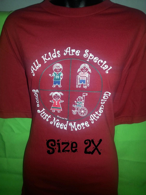 Special Education T Shirts Original Design Screen Printed