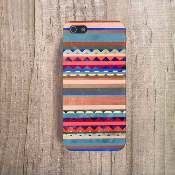Tribal iPhone Case Stripe iPhone Case 5S Summer 2015 Colors Red Galaxy S5 Case Geometric Cases Summer Colors Red iPhone 6 Case