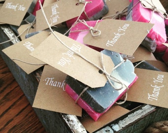 Wedding Favors Thank You Soaps!