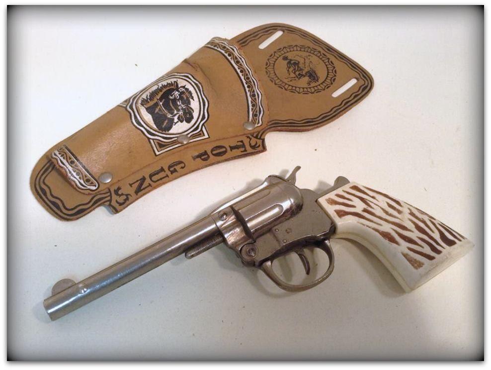 Cap Gun Top : Vintage hubley top gun cap with holster