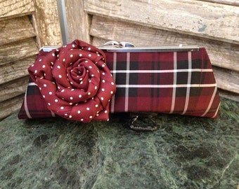 Silk clutch Purse