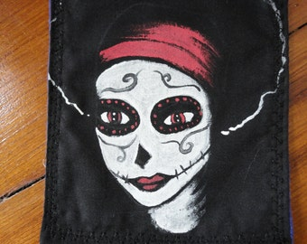 Skeleton Girl Patch