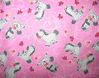 Baby Zebra Knit Fabric