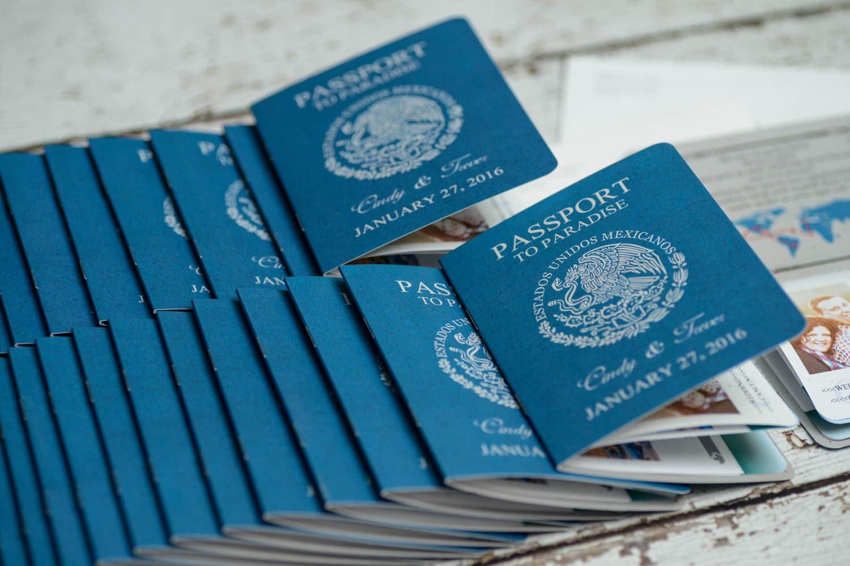 Destination Wedding Invitations Passport: Passport Invitation For A Destination Wedding Custom Made