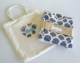 baby shower gift. newborn gift set. baby boy gifts set. bib and burp cloth set. bib. burp cloth. gift bag. swaddle blanket. cot blanket.