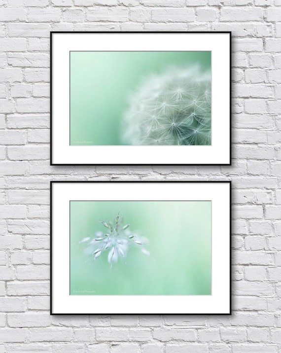 nature bathroom decor set mint bathroom art bathroom