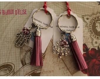 Hand of Fatima/Hamsa Keychain Tree Keychain