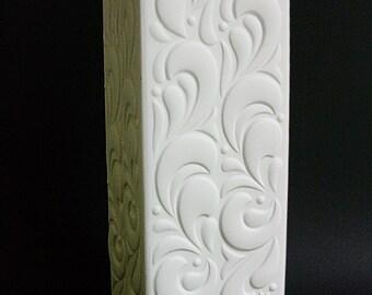 Hutschenreuther / Tirschenreuth bisque / bisquit porcelain vase Germany