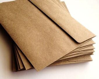 A2 Kraft Envelopes - Set of 25 - A2 envelope - Wedding envelope - Brown envelope - Rustic Wedding Invite - Kraft brown envelope - Envelope