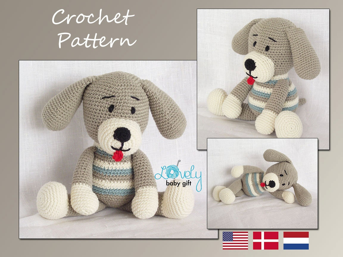 Amigurumi Crochet Pattern Puppy Dog Amigurumi by ...