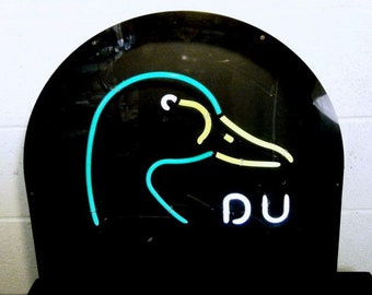 Ducks Unlimited Neon Sign Licensed Product Works