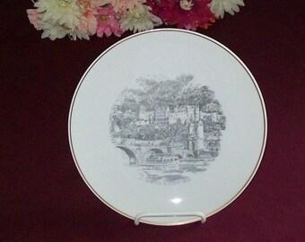 Vintage Rosenthal Wall Plate - Heidelberg Germany Castle