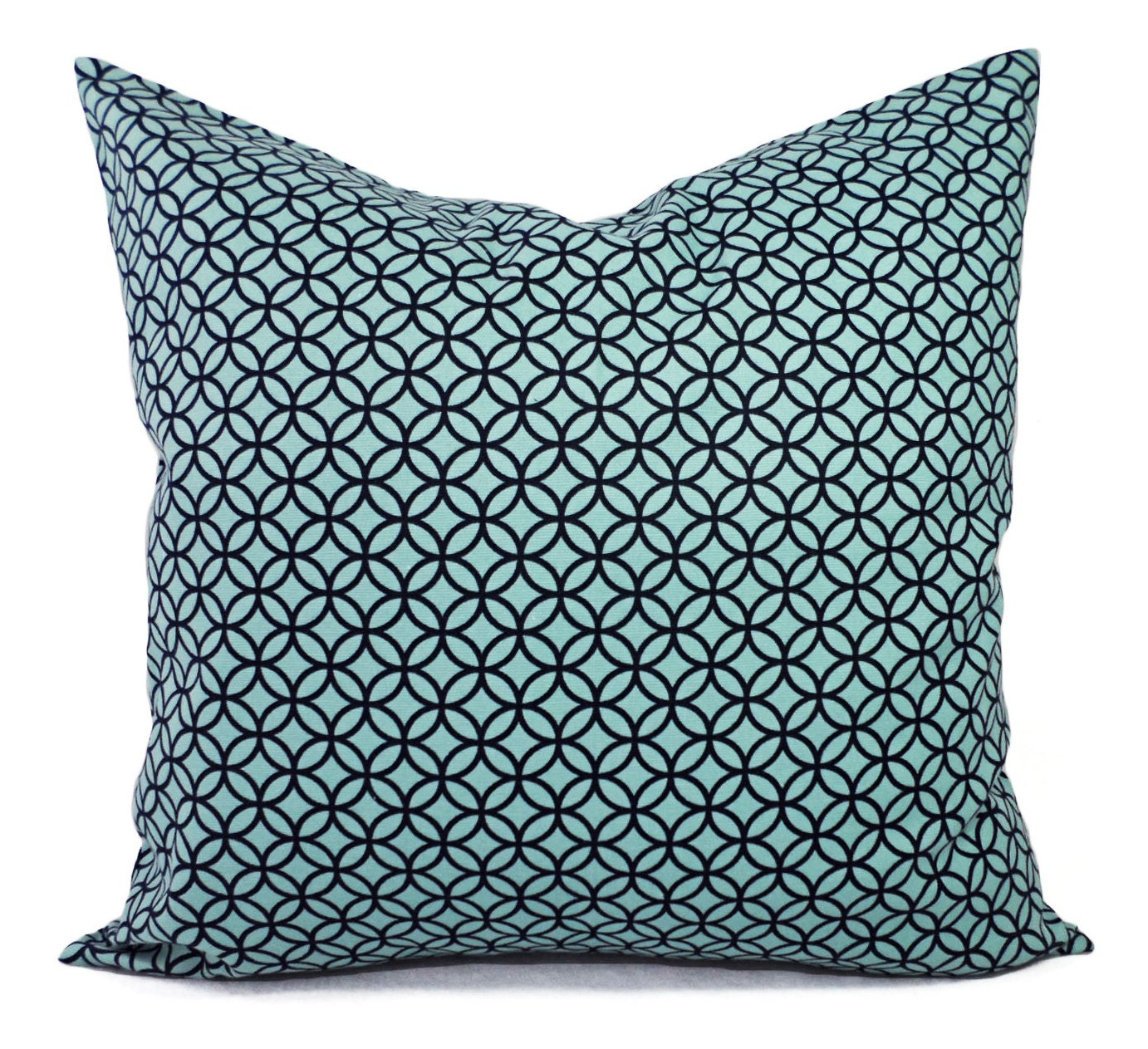 Throw Pillows In Clearance : CLEARANCE Pillow Cover Decorative Throw Pillow Cover Blue