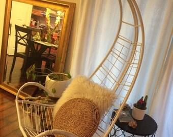 Homecrest Modern Wire Hanging Chair Swing