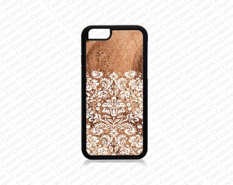 iPhone 6 Plus Case, iPhone 6 Case, iPhone 5s case, Iphone 5 Case,Damask Pattern on wood print iPhone SE Cover,iPhone SE Case, iPhone 5c Case