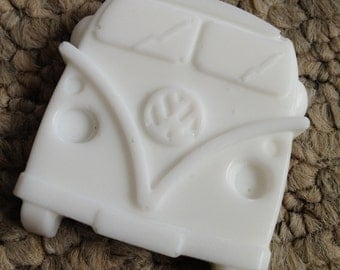 100 x Wedding Favours - VW Campervan Soaps - White with Strawberry Scent