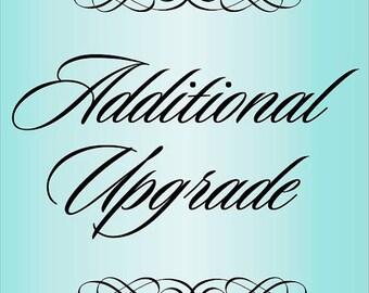 Additional Upgrade