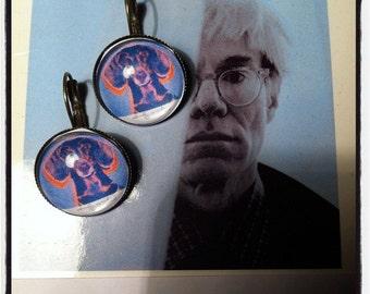 POP ART DATCHSUND earrings