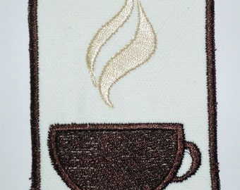 Iron-On Patch - COFFEE
