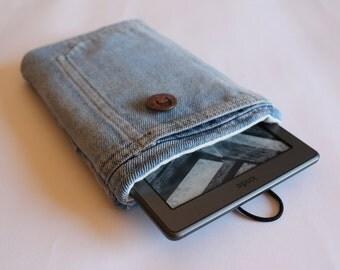 Denim case for eBook .