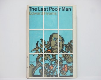 Seymour Chwast Jacket Design ~ The Last Poor Man by Edward Hyams 1966 Vintage Book
