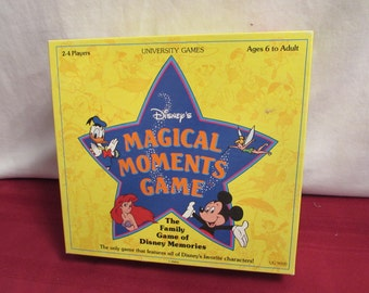 DISNEY'S MAGICAL MOMENTS Game 1991 University Games