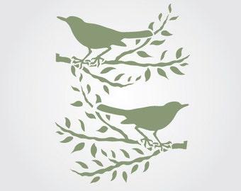 Starlings Craft Stencil