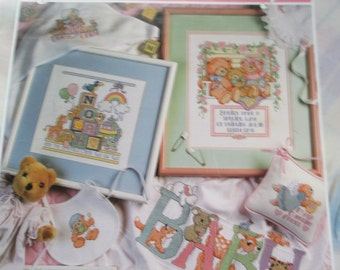"K Cross Stitch for your Baby ""The big book Just for Baby"". 63 pages used but in good condition"