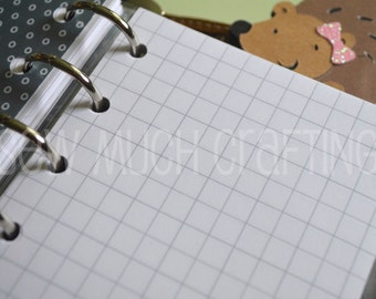 Printed Pocket Size Grid Paper