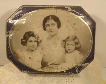 vintage blue bird toffee tin eBay