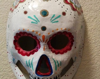 Day of the Dead Paper Mache Masks