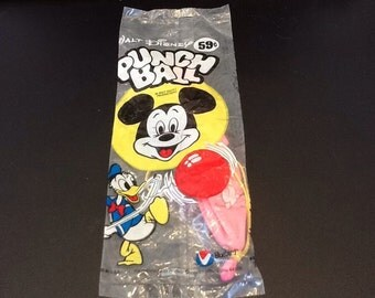 1960's dime store Mickey Mouse punch ball.