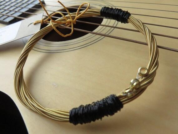 Mens Guitar String Bracelet Guitar String Bracelet