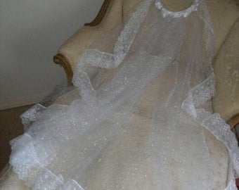 Garland White Satin French Roses and Rosebuds with Swarovski Crystals Crowns Fingertip Length Veil. A Vivre Fleurs Romance Bridal Design