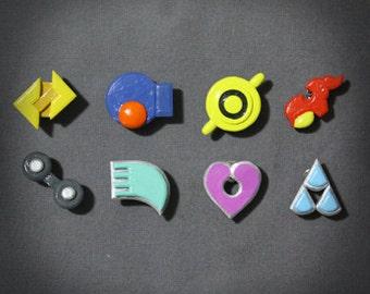 Pokemon - Hoenn badge set (Ruby/Sapphire/Emerald)