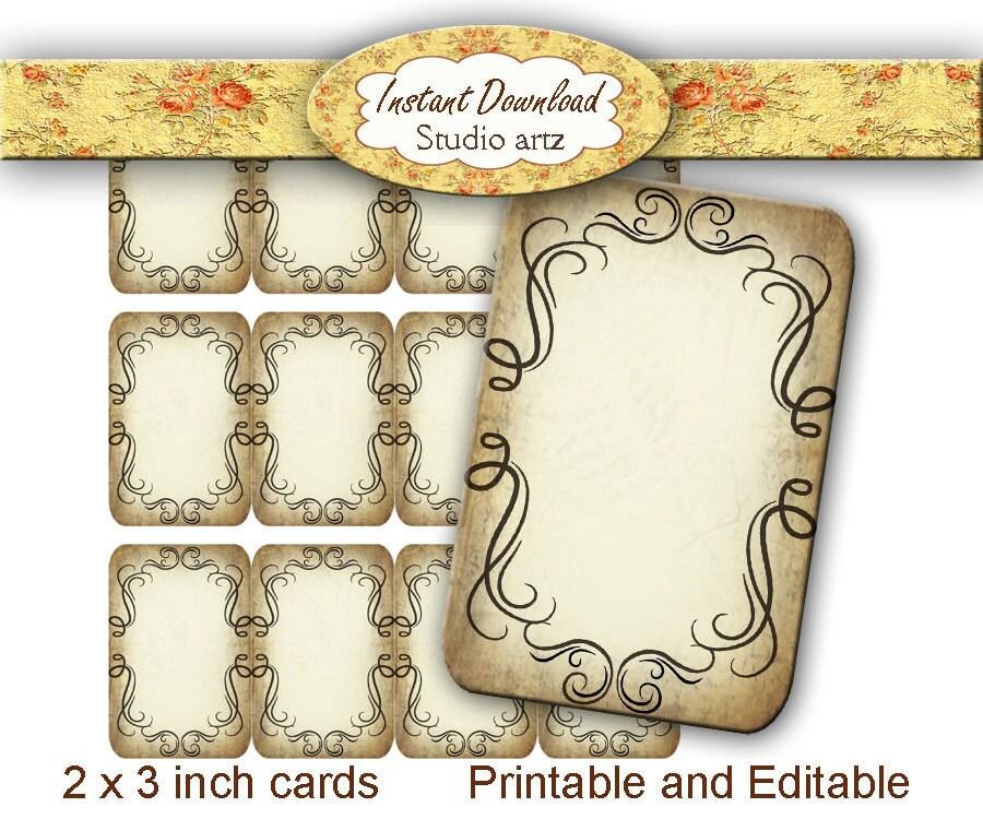 Diy Bracelet Display Card: Printable Editable DIY Jewelry Cards Earring Display Tags