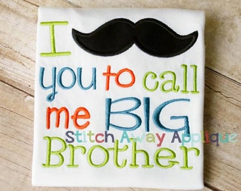 Big Brother! Embroidered Shirt, Bodysuit, Burp Cloth, Dish Towel and more!