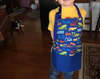 Reversible, Craft apron, kitchen helper, Art