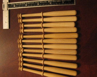 12x Spanish Bobbin Lacemaking Bobbins - guatambo & other