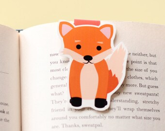 Fox Magnetic Bookmark (Jumbo)