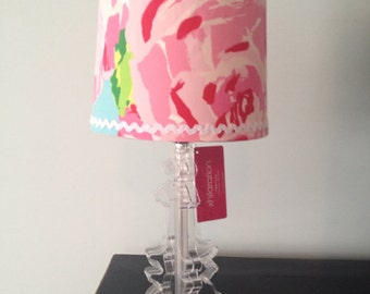 Lilly Pulitzer Lampshade in  First Impressions Hotty Pink Lamp Shade ONLY!! nursery