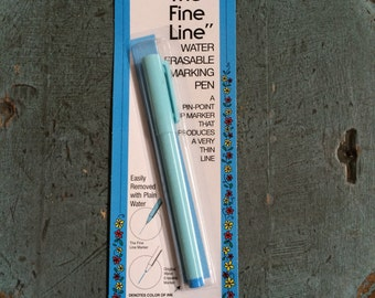 The Fine Line - Blue Washout Fabric Marker
