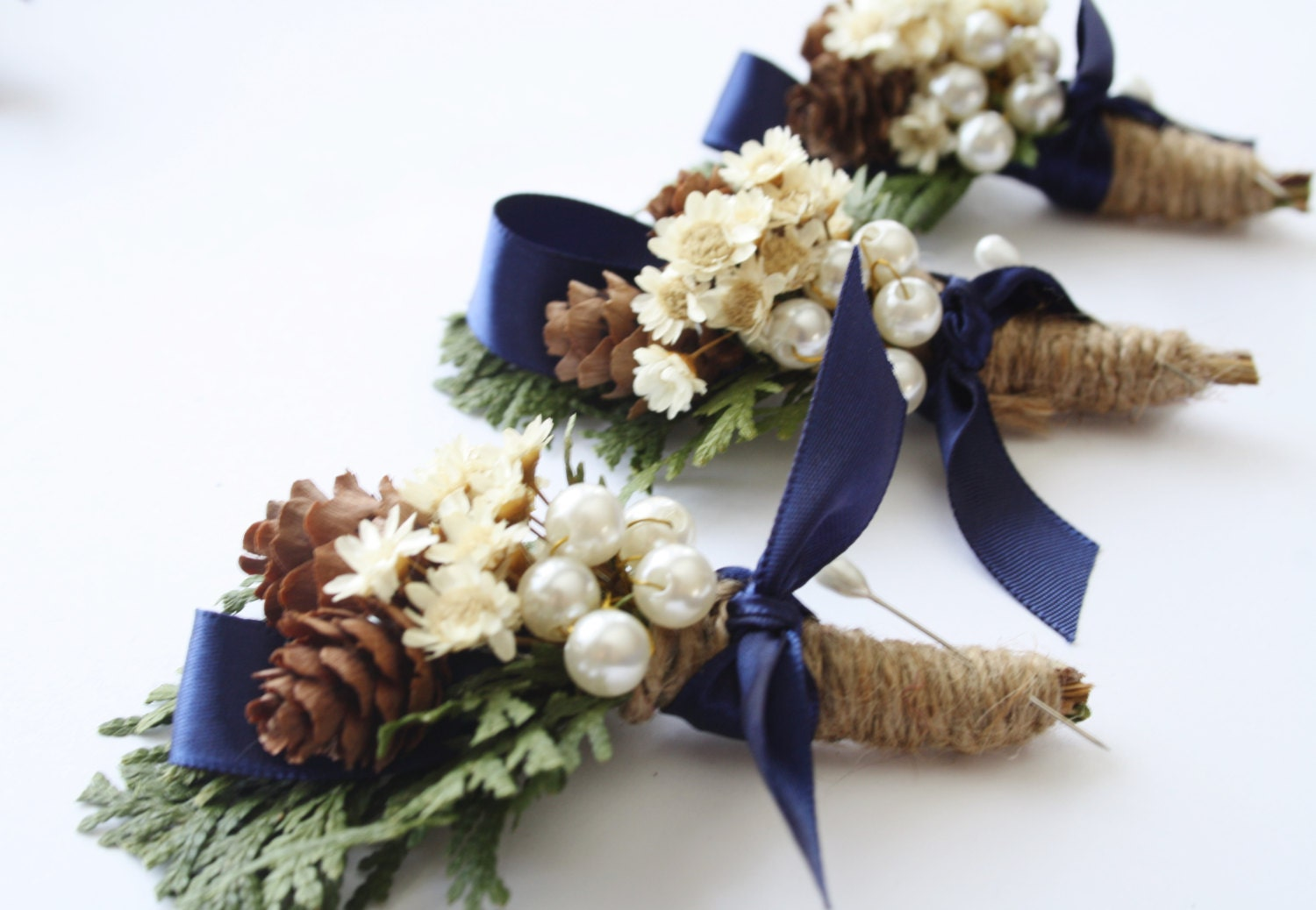Rustic Boutonniere Winter Boutonniere Woodland Wedding