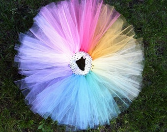 Pretty in Pastel- Baby girl TuTu